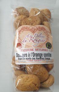 Douceurs aux oranges confites
